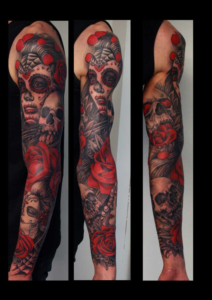 Riku putka tattoo my sleeve plans pinterest - Tatouage cavalera ...