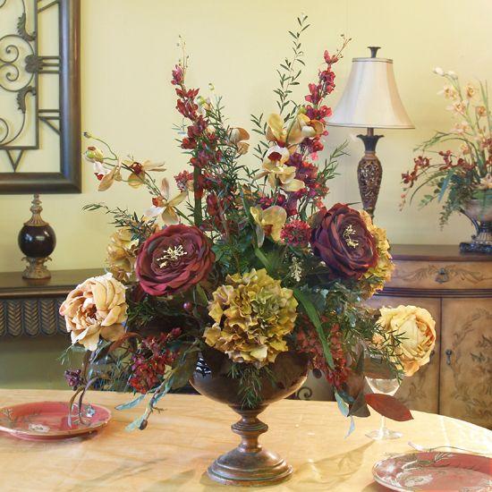 Artificial Flower Arrangements For A Table