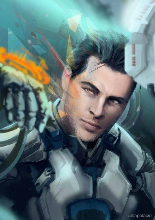 Scott Ryder Mass Effect Characters Mass Effect Biotics Mass Effect Art