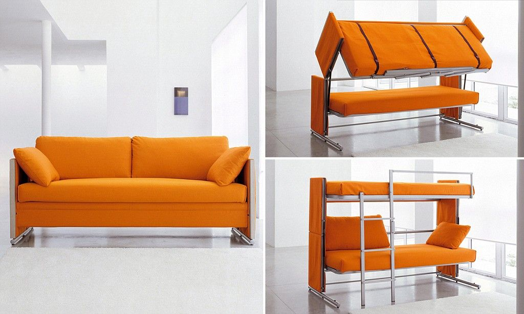 The 163 3 000 Sofa That Transforms Into A Bunk Furnishings