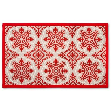 Red Floral Floor Mat 34  Target Kitchen Floors And Floral Alluring Kitchen Mats Target Design Decoration