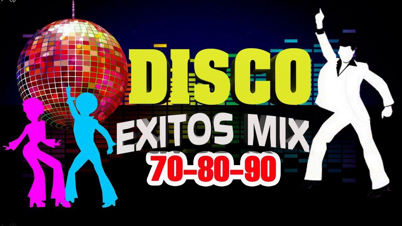 Musica Disco De Los 70 80 90 Mix En Ingles Exitos