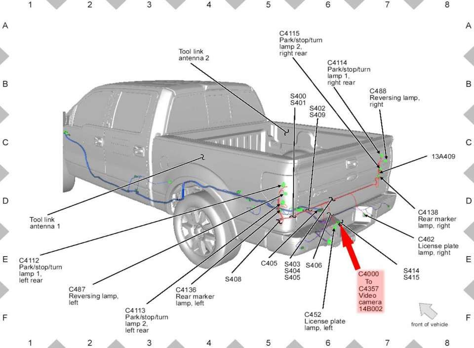 15 2010 Ford F150 Truck Bed Parts Diagram Ford F150 Truck Bed F150 Truck