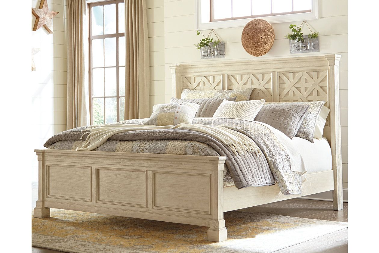 Best Bolanburg Queen Panel Bed Ashley Furniture Homestore 400 x 300
