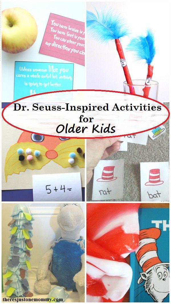 Fun Dr Seuss Activities For Older Kids Dr Seuss Activities Dr