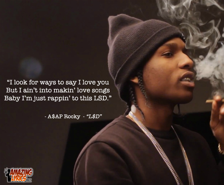 Asap Rocky Quotes Lyric from