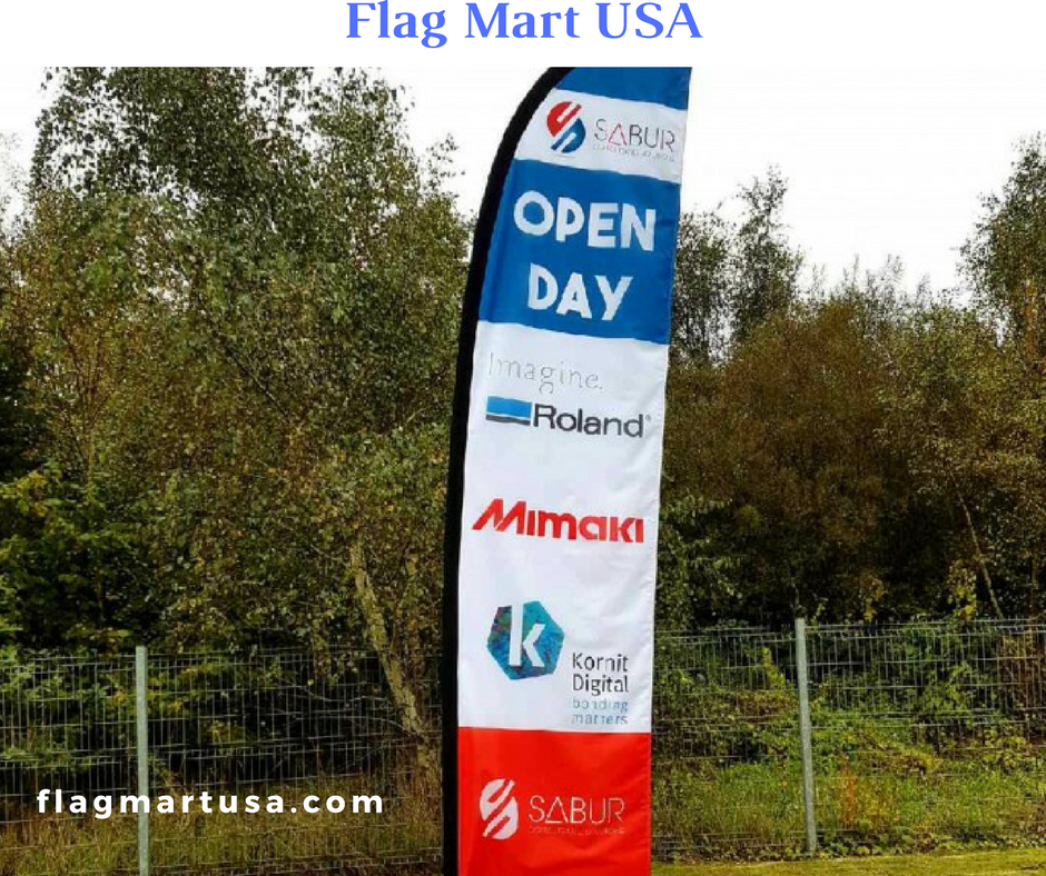 Custom Flags Are Used To Advertise Business At Any Outdoor As Well Indoor Events Mart Usa Has Varieties Of Background Images That You Can Use