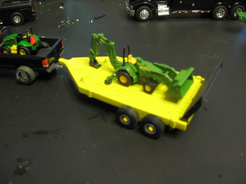 1 64 scale trucks and trailers - 1 64 Scale Custom Tractors