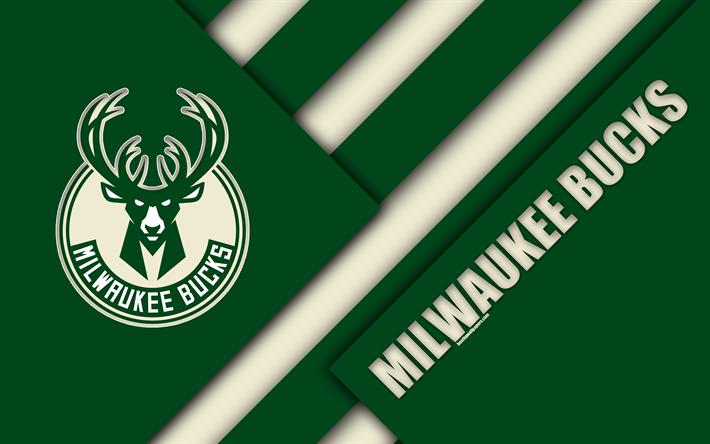 Download Wallpapers Milwaukee Bucks 4k Logo Material Design American Basketball Club Green Abstraction Nba Milwaukee Wisconsin Usa Basketball Besthqwa Milwaukee Bucks Milwaukee Basketball Wallpaper