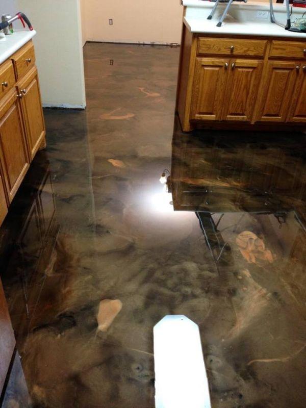 Epoxid Küchenboden Überprüfen Sie mehr unter http://kuchedeko.info ...
