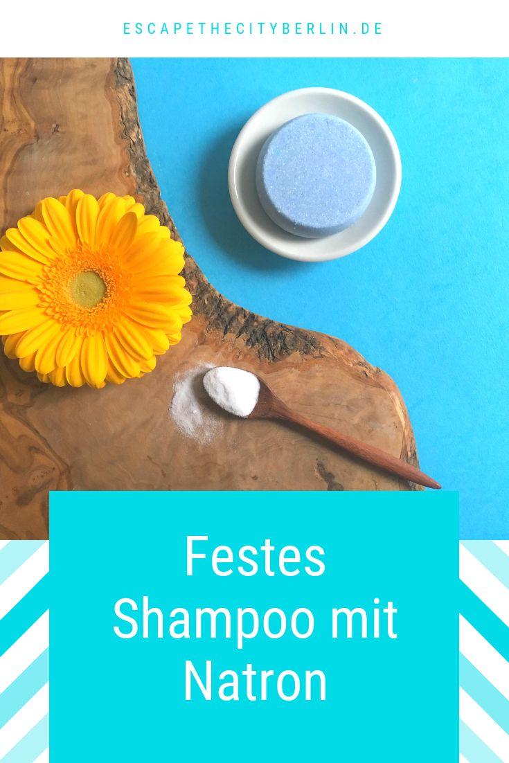 DIY für ein festes Shampoo mit Natron #hairhealth