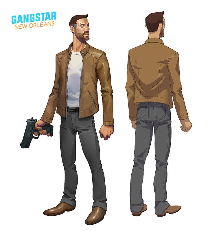 Artstation Gameloft S Gangstar New Orleans Concepts Quentin Gautier New Orleans Gautier Gameloft