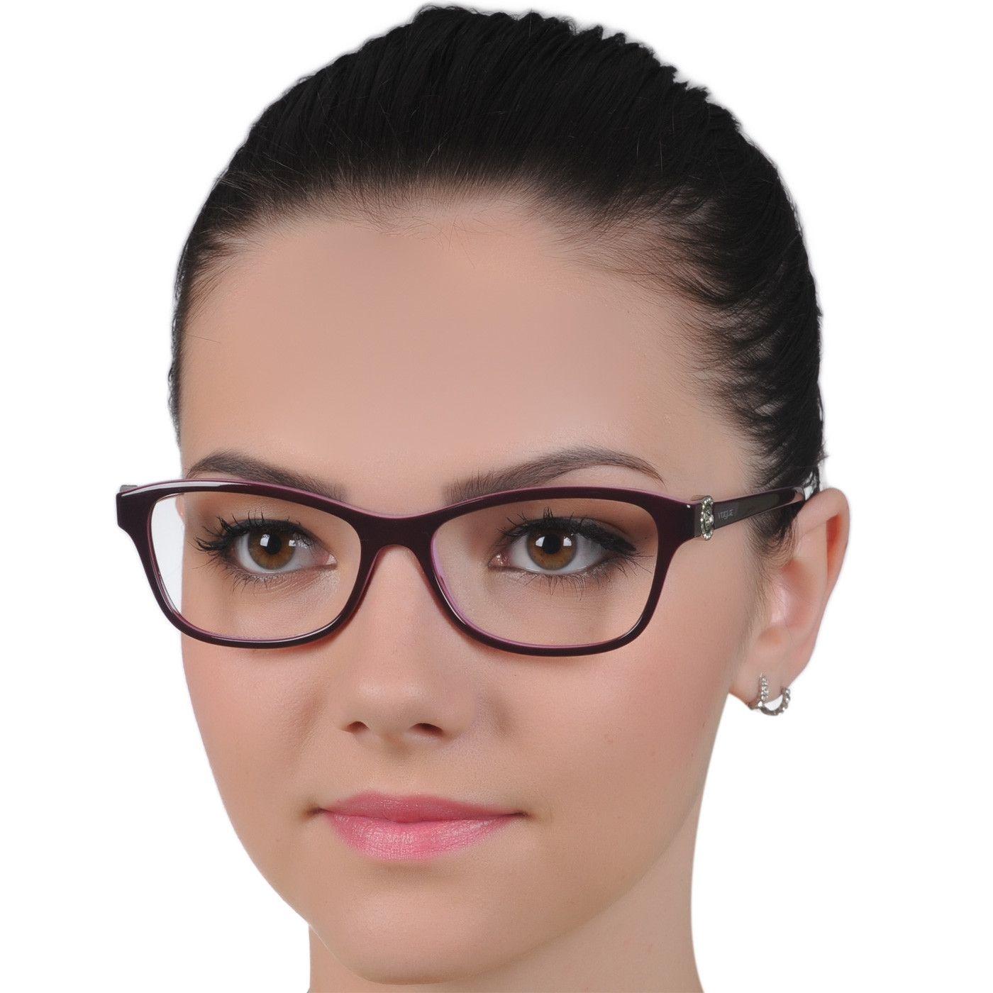 05fd0e192e871 Óculos de Grau Vogue VO5002 Feminino Roxo e Lilás Médio   Lista de ...