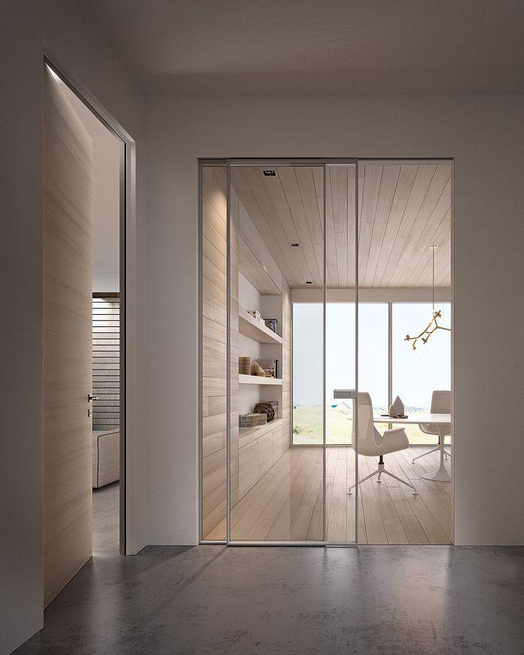 Glass And Aluminium Sliding Door