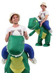 Self Inflating, Dinosaur Costume