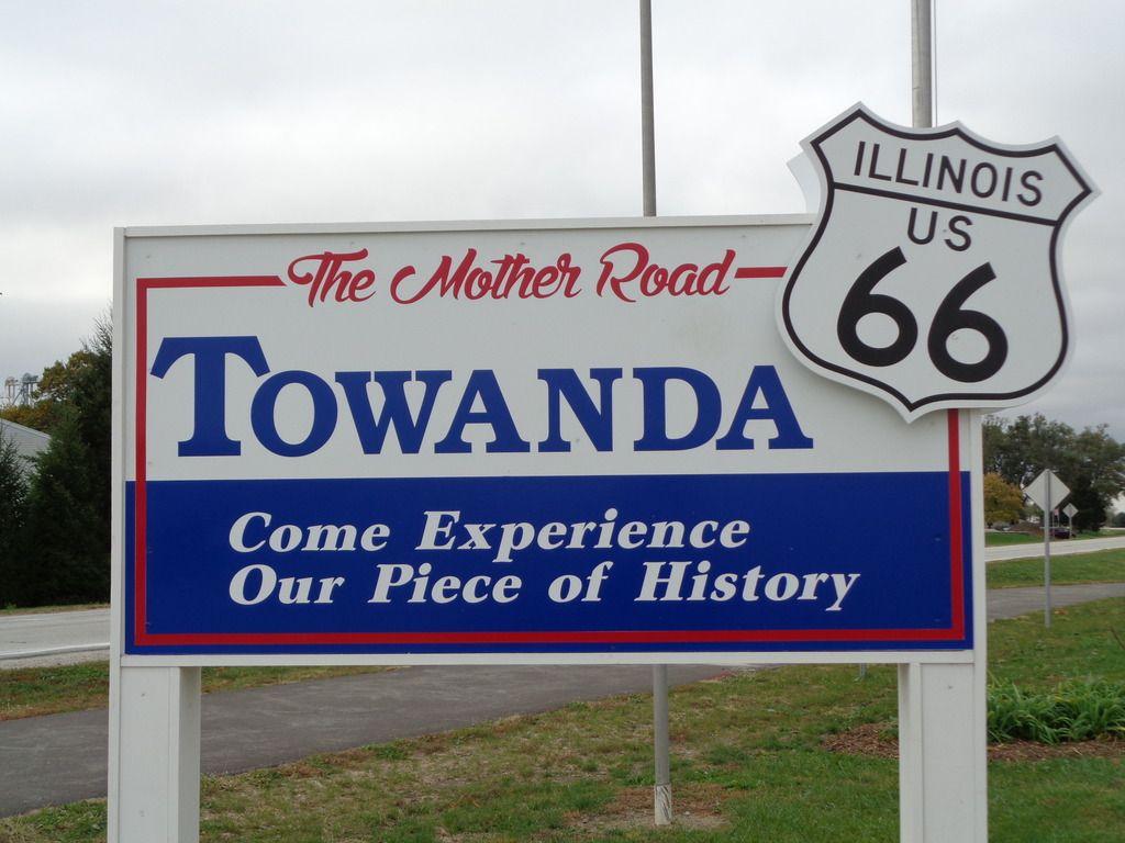 Towanda, Illinois Route 66