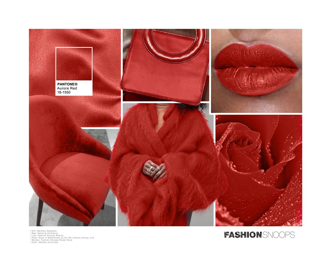 pantone aurora red - photo #32