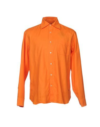 FAY Men's Shirt Orange 16 ½ inches-neck