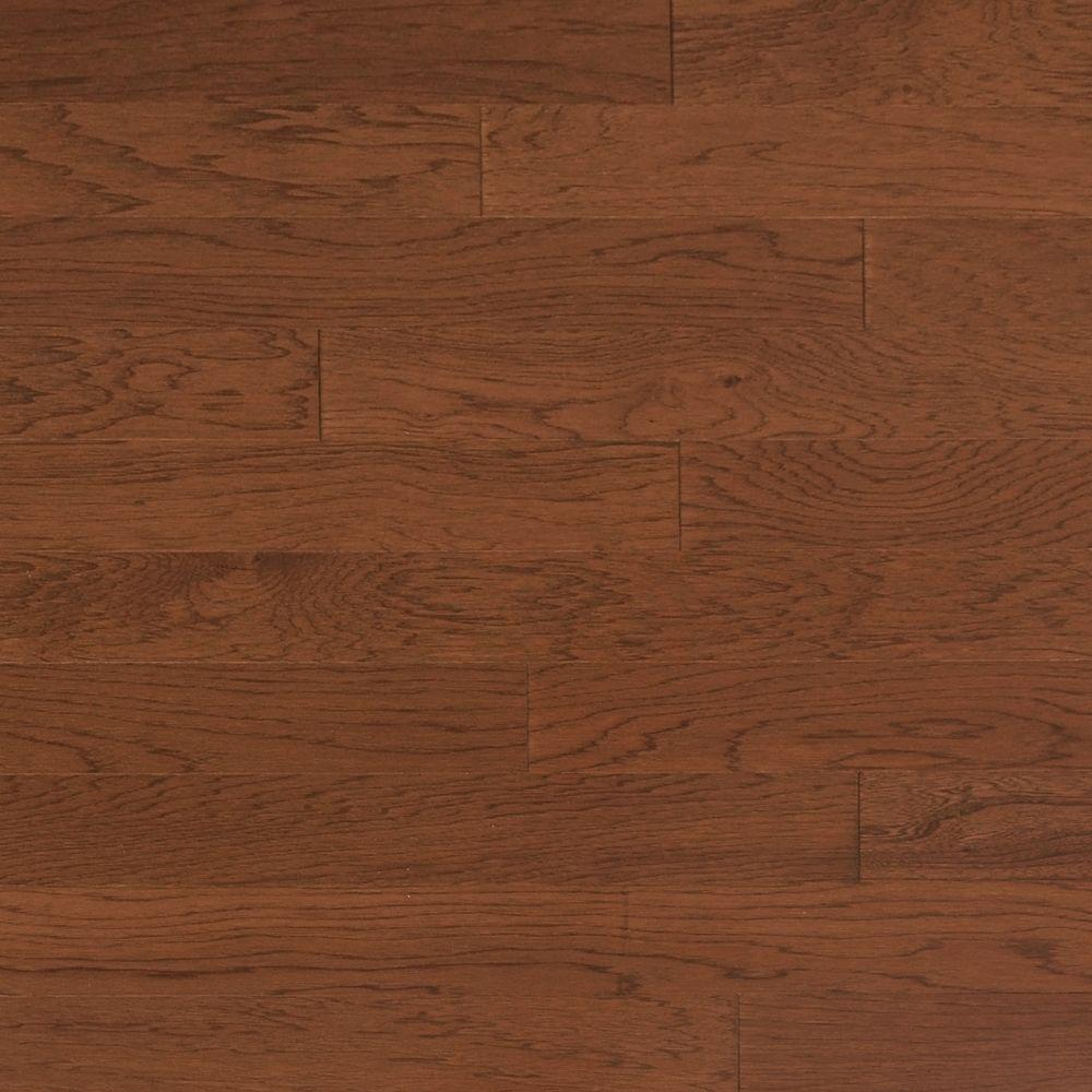Heritage Mill Vintage Hickory Mocha 1 2 In Thick X 5 In Wide X Random Length Engineered Hardwood Flooring 31 Sq Ft Case Brown Flooring Real Wood Floors Engineered Hardwood