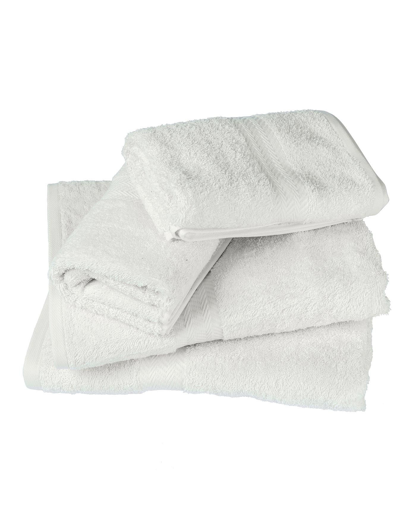 Ideal home silver ombre gsm piece towel bale in unique