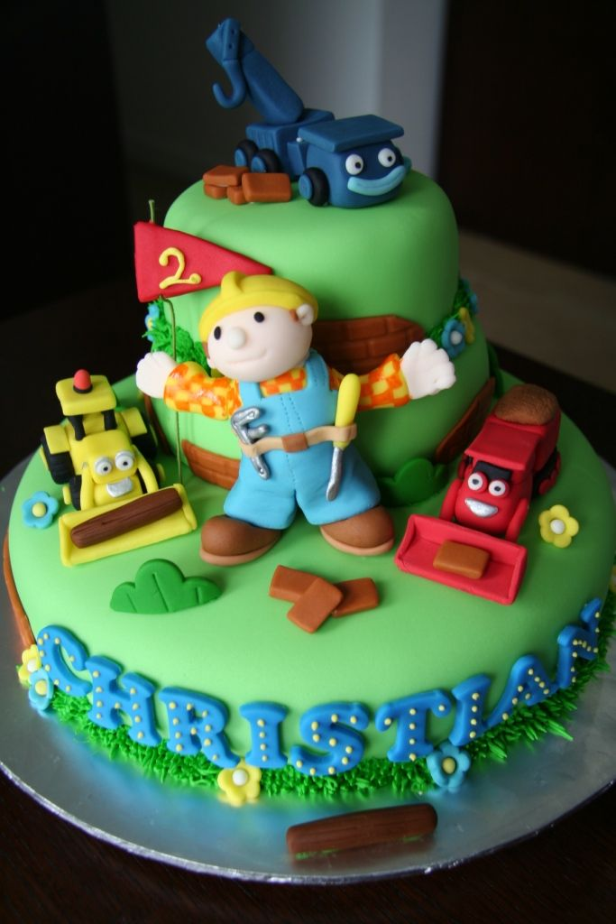 Bob The Builder And Friends Sugar Pie Gourmet Cakes And Classes