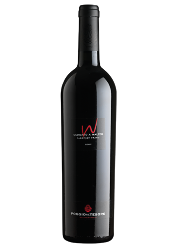 Dedicato A Walter Bolgheri's terroir, with its proximity to the sea and the particularly favourable exposure to the sun, allows Cabernet Franc to thrive. In this microclimate, Cabernet Franc vinified as a single varietal enhances its spicy nuances and gains elegance and depth. The wine is named after Walter Allegrini and symbolizes the love he felt for this land.