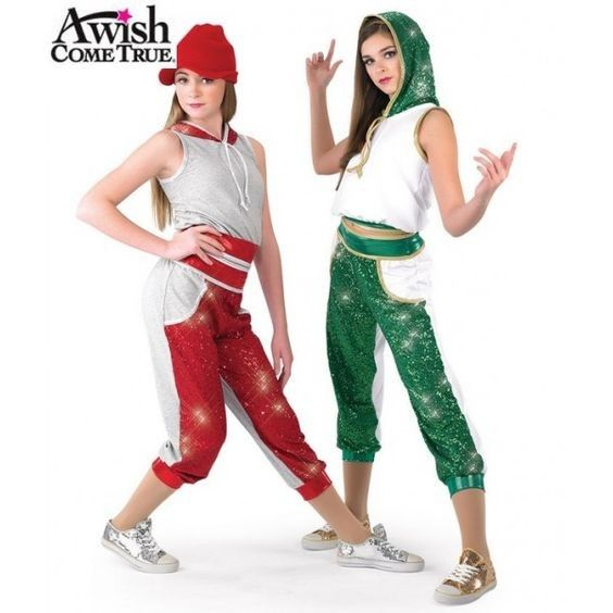 Pin By Audrey Brooks On Christmas Costume Ideas Christmas Dance Costumes Dance Costumes Hip Hop Dance Costumes