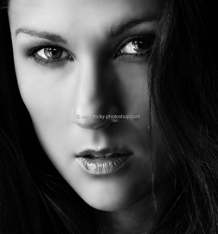 Create dramatic black and white portrait using photoshop cs6 trickyphotoshop