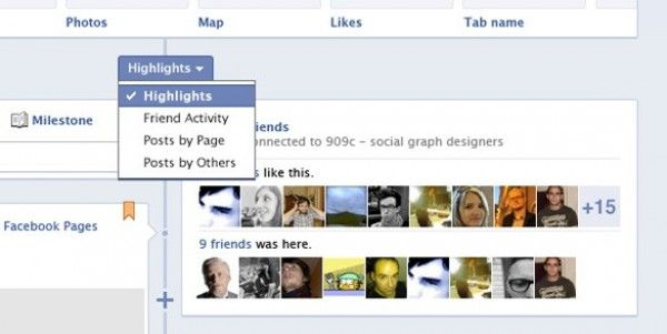 New Facebook Fan Pages Timeline Templates PSD -    www - timeline templates