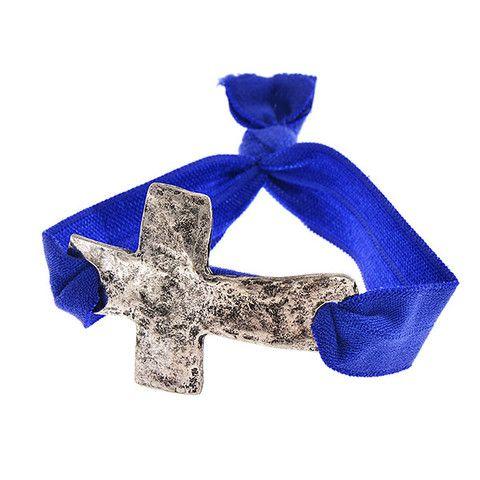 Cross Stretchy Bracelet