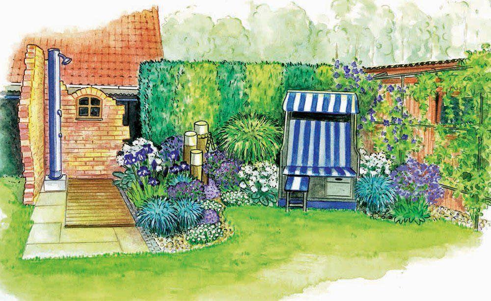 Maritimes Flair Fur Den Garten Gartengestaltung Garten Garten Lavendel