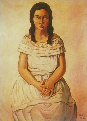 Ana Maria - Salvador Dali 1924
