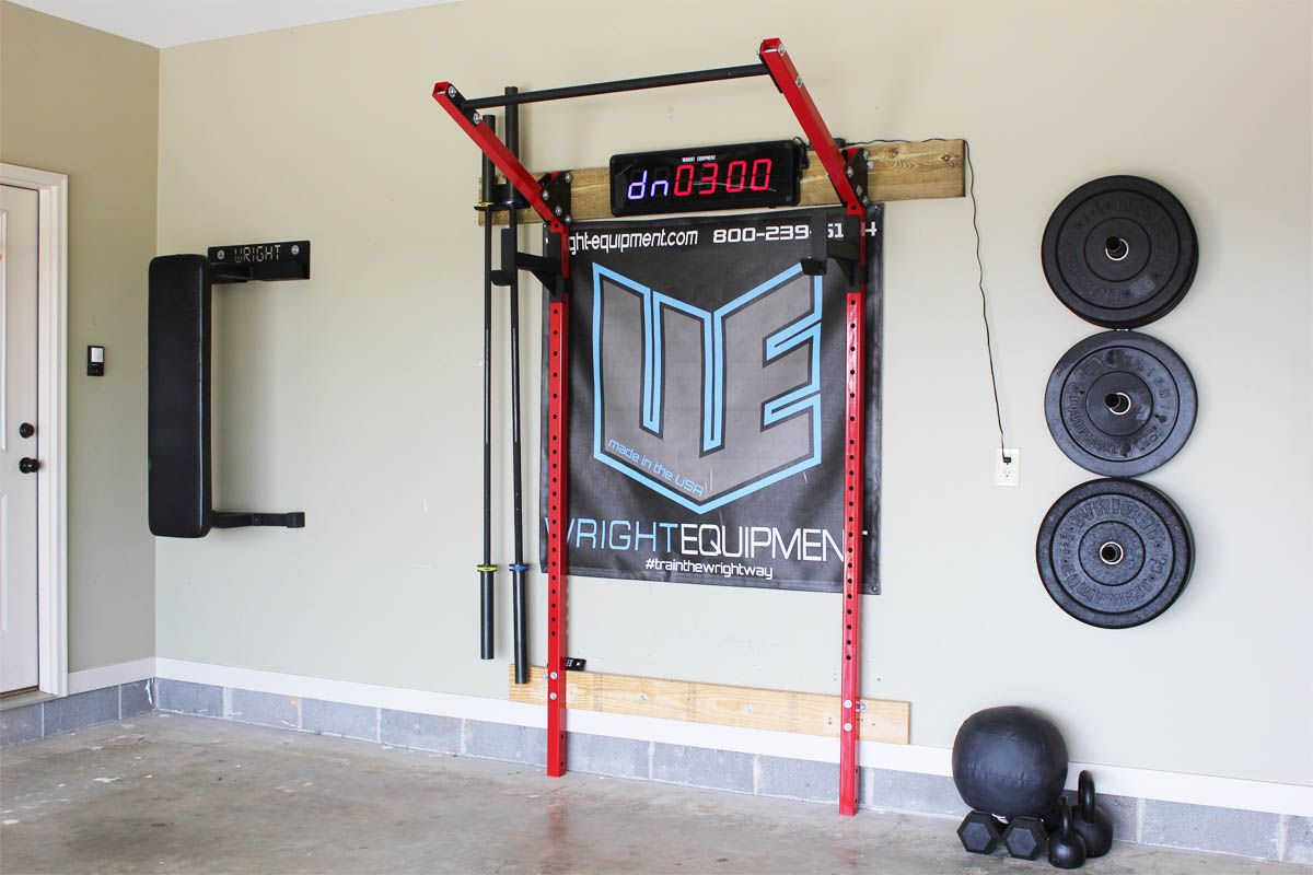 Wright lean garage rack with install kit included home garage