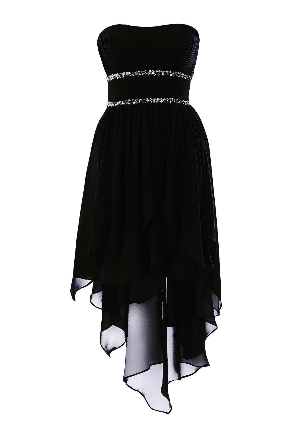 Abendkleid schwarz 34