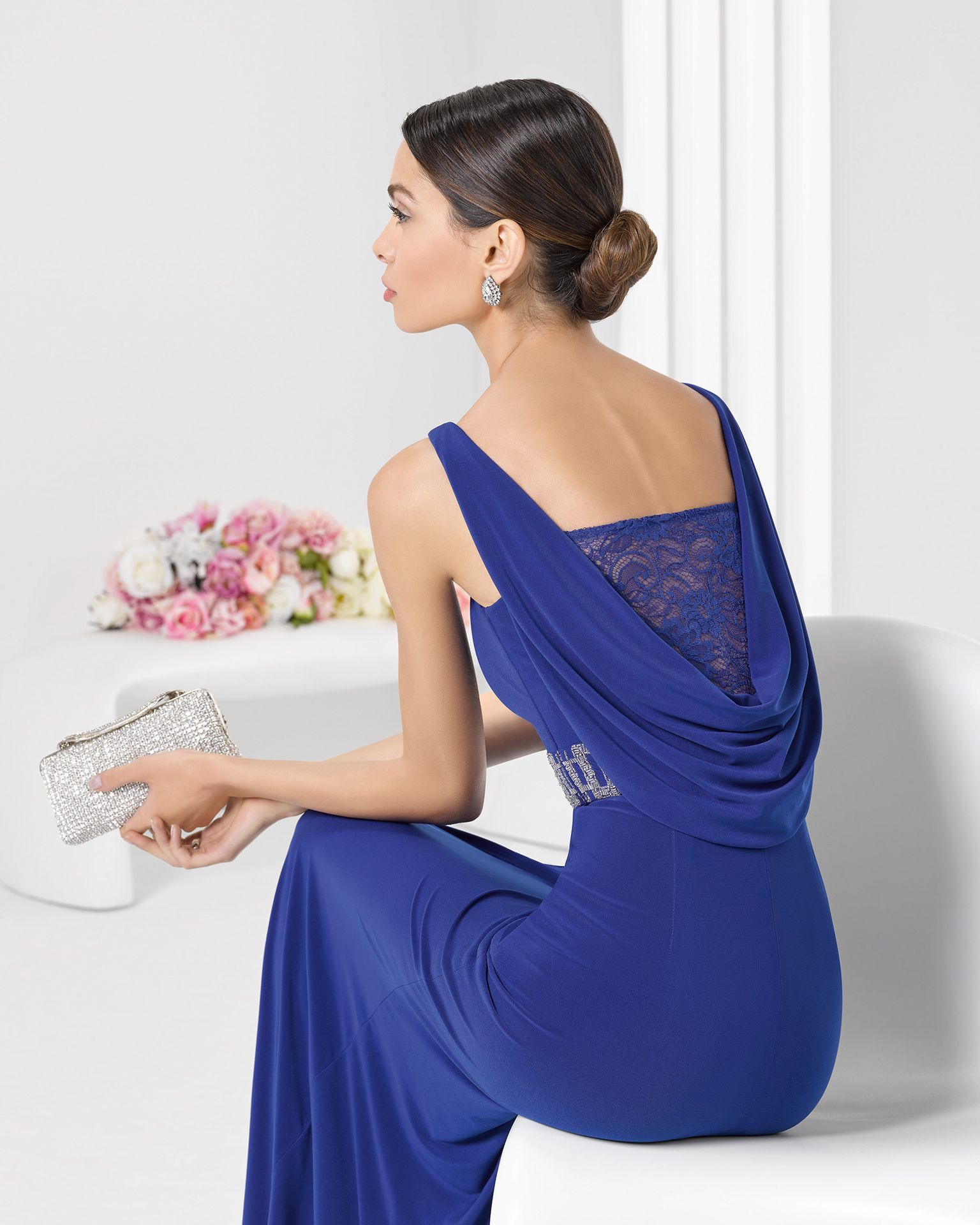 Rosa azul tienda vestidos