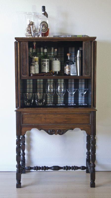 Antique Liquor Cabinet In East Los Angeles California