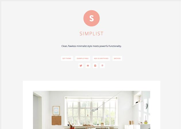 Minimalistas | Temas | Tumblr | design <3 | Pinterest