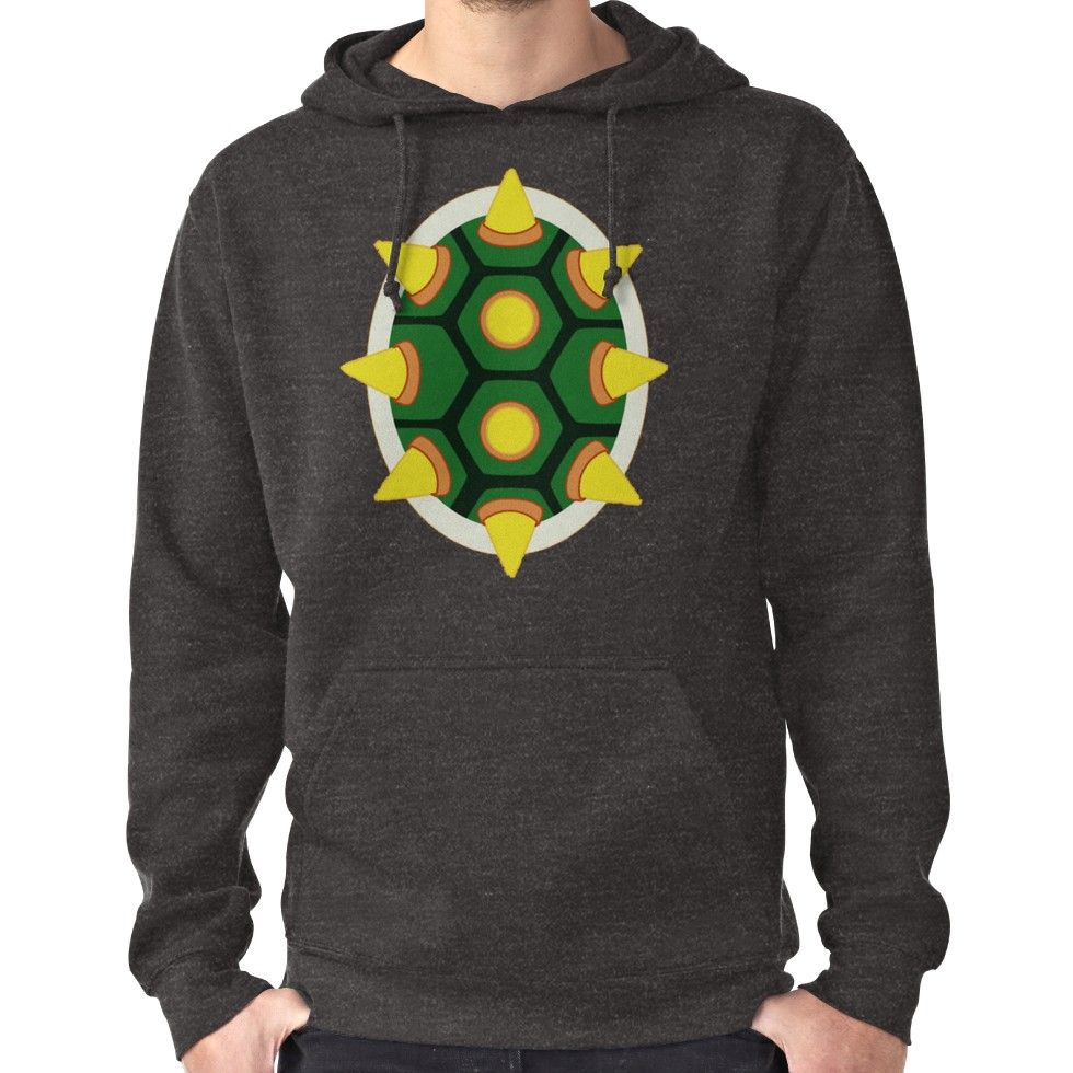 0081829d08 Bowser Shell Hoodie (Pullover) Bowser