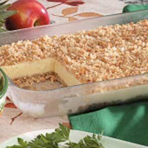 Crunchy Ice Cream Dessert