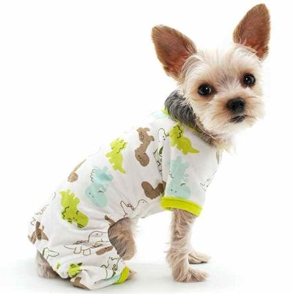 dinosaur dog onesie pajamas