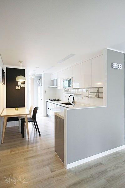 공간 조력자 가벽의 대활약 이미지 14 부엌 디자인 부엌 인테리어 디자인 집 내부 on kitchen decor korea id=68117