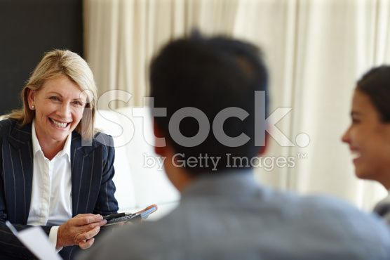 She's making sure it all adds up royalty-free stock photo