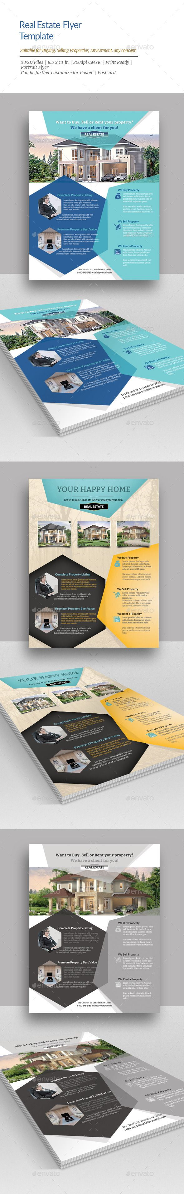 real estate flyer templates a great marketing piece to include in