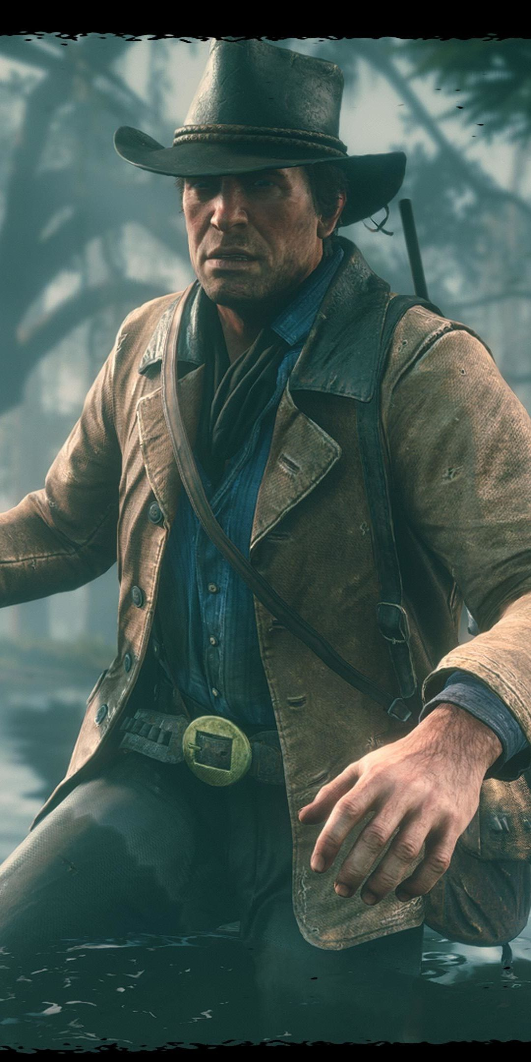 Video Game Red Dead Redemption 2 Arthur Morgan 1080x2160