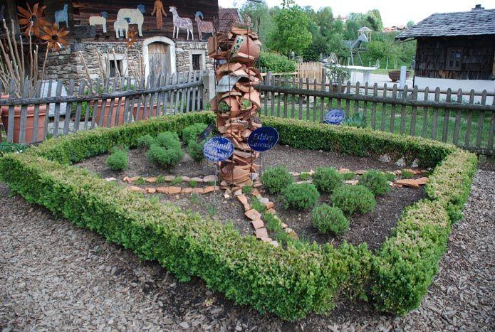 Herb garden from Germany. Photo by Judieye: www.judieye01.blogspot.com