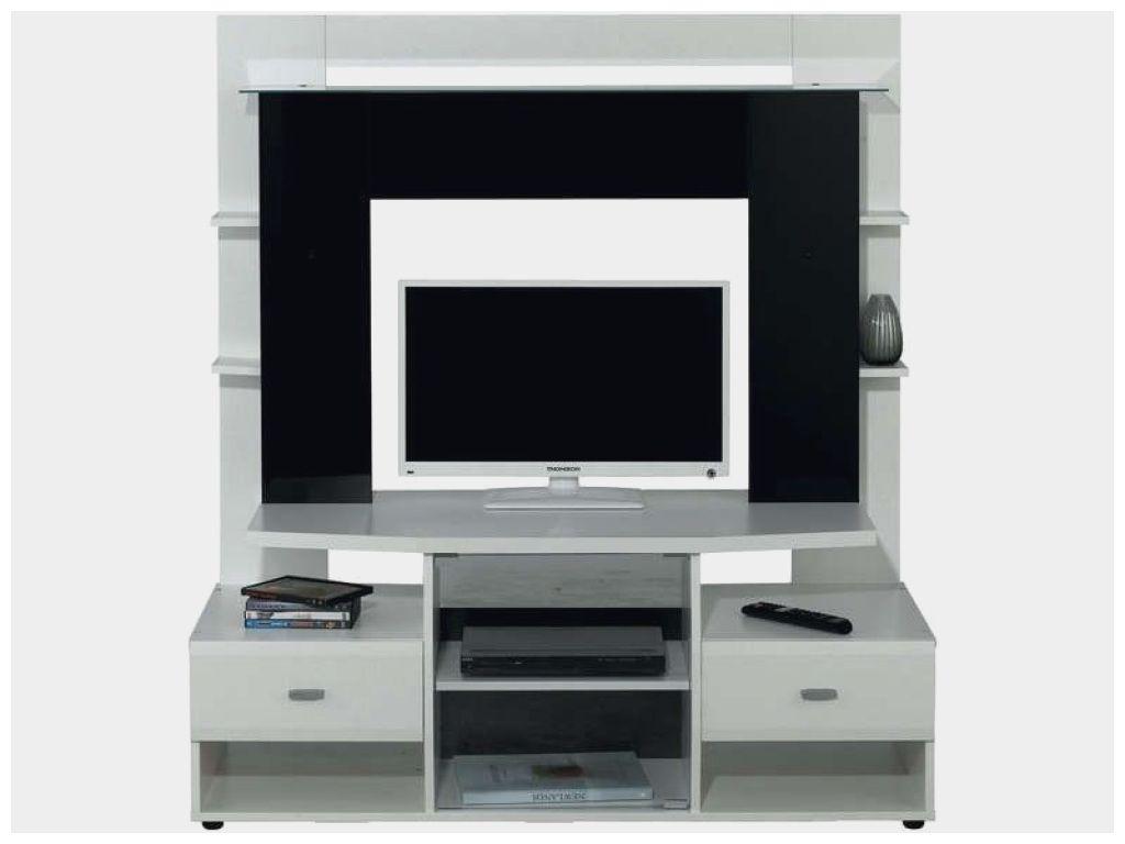 Nouveau Meuble Tv Noir Et Blanc Conforama Dengan Gambar