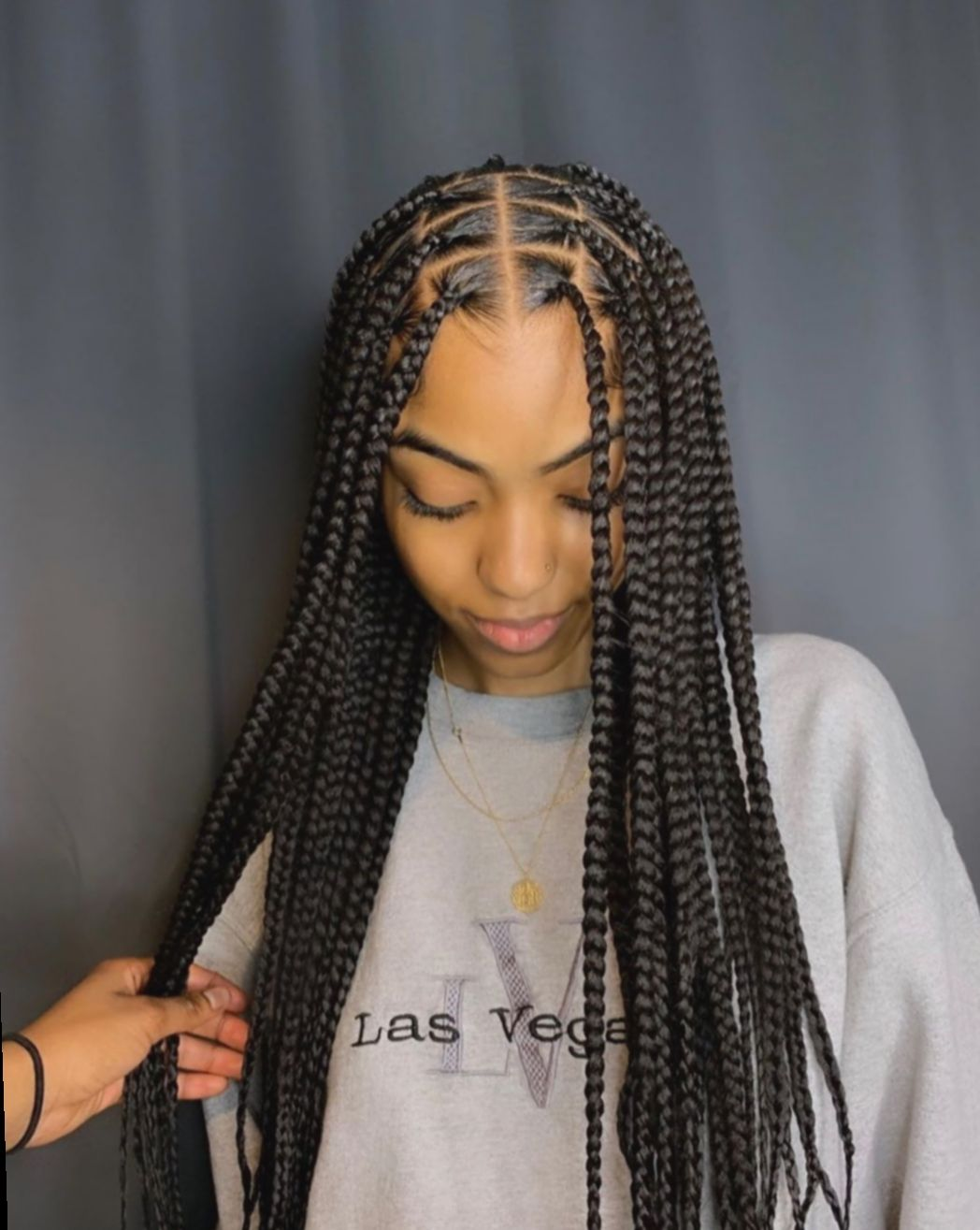 14 Hairstyles Braided Black Ponytail Braids For Short Hair Box Braids Styling Girls Hairstyles Braids