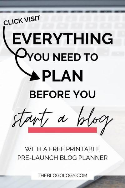 How to Plan Your Blog Before You Launch It   BLOGO