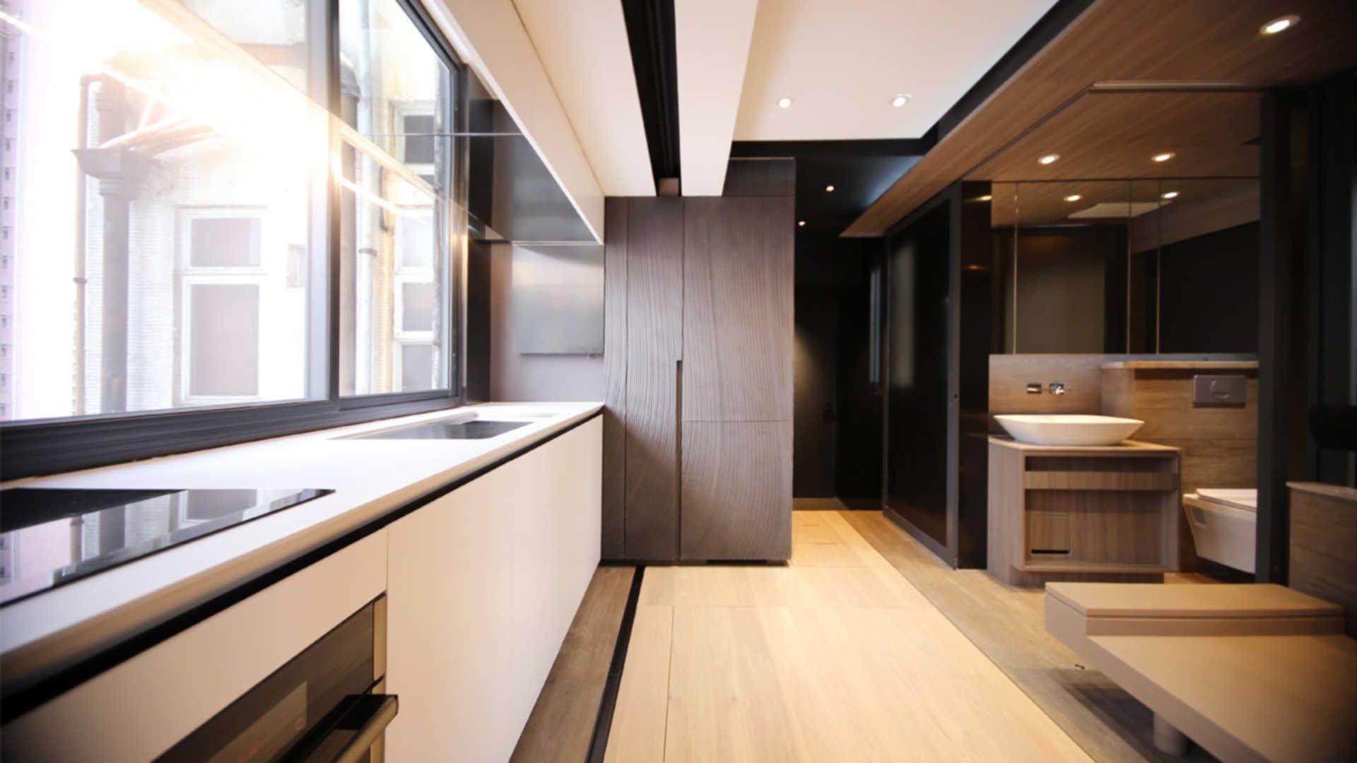 Home interior design hong kong tiny smart house in hong kong  nomadic life  pinterest  smart house