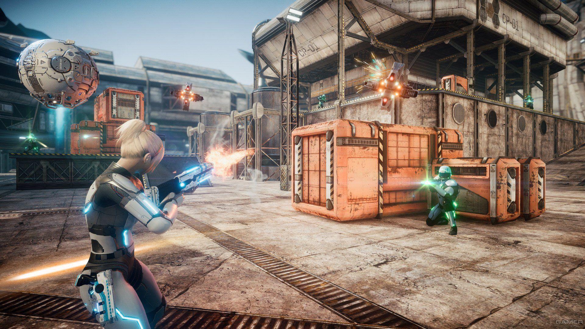Everreach Project Eden Screenshots Video Games Xbox Xbox One Xbox